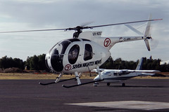 0560 (dannytanner804) Tags: airport south australia helicopter clark date helicopters reg hughes owner parafield 1041993 500c369hs cn460811s airportcodeyppf vhndc