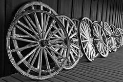 Wheels (Laymons Pics) Tags: blackandwhite utah wheels