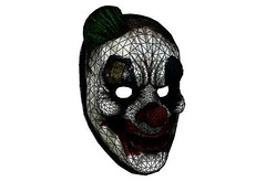 PayDay 2 - Life Size Funnyman Mask for Cosplay Free Papercraft Download (PapercraftSquare) Tags: cosplay funnyman lifesize mask payday payday2