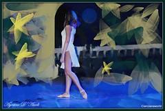 Composizione con una ballerina - Agosto-2016 (agostinodascoli) Tags: danza ballerina persone donna texture art digitalart digitalpainting photoshop photopainting colore fullcolor agostinodascoli cianciana sicilia nikon nikkor