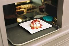 (unchisa iempimpan) Tags: cake cafe nom nomnom strawberryshortcake pie sweet food foodography serve eating filmphotography filmcamera film adorable awesome analogue photography