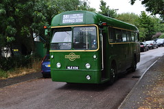 AEC Regal IV RF636 NLE636 London Bus Company (Richard.Crockett 64) Tags: aec associatedequipmentcompany regal iv rf636 nle636 metrocammell londontransport bus omnibus passengervehicle commercialvehicle londonbuscompany northweald station essex 2016