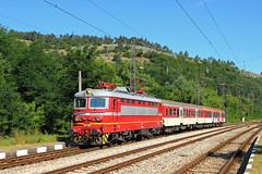 Locomotive 45 113 (Krali Mirko) Tags: bdz train electric locomotive skoda 68e3 45 113 45113 mezdra bulgaria railway
