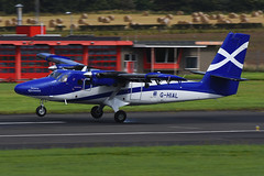 G-HIAL.PIK020915 (MarkP51) Tags: ghial viking dhc6400 twinotter loganair prestwick airport pik egpk scotland aviation aircraft airplane plane image markp51 aviationphotography