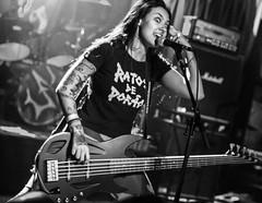 Nervosa live 8-19-2016pic15 (Artemortifica) Tags: brazil chicago mosh nervosa reggies reign suspended wrath brutal concert deathmetal event live metal music performance pit stage thrashmetal il