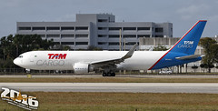 TAM Cargo | Boeing 767-346FER | PR-ACO | S/N:35817 | L/N:959 (Winglet Photography) Tags: plane airplane aircraft airline airlines airliner jet jetliner flight flying aviation travel transport transportation spotting planespotting georgewidener georgerwidener stockphoto wingletphotography canon 7d dslr miami florida mia kmia fl 2016 south airport tamcargo tam cargo freight freighter boeing 767 763 767300 767346fer praco 35817 959