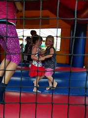 2016-06-11 18.43.32 (whiteknuckled) Tags: lily 4th fourth birthday party strawberry festival st pauls friends bounce bouncey house castle