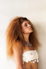 she's like the  wind (la_peppy) Tags: girl portrait hair curly beauty ritratto face wind woman