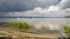 Lake Ammersee (hjuengst) Tags: ammersee see lake munich herrsching diesen clouds sailboat