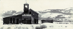 GhostTown (Rudy Letsche) Tags: colorado ghost town goldrush 1860s bw architecture