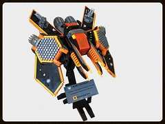 S.S. Helios (Siercon and Coral) Tags: lego starship spaceship straighter space helios