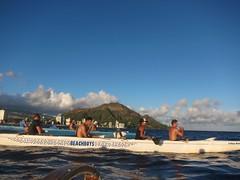 IMG_6823 (nautical2k) Tags: waikikibeachboys paddling outrigger canoe diamondhead honolulu oahu