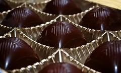 Tempting repetition... (Zsofia Nagy) Tags: flickrlounge weeklytheme repetition pattern 7daysofshooting week12 feelingsadandorfedup macromonday food chocolate pralin cherry