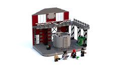 LEGO ACID Chemical (dterribletwins) Tags: batman lego super heroes ideas moc custom creations supporting
