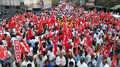 Grevistas no estado de Tamil Nadu (diarioliberdadebrasil) Tags: ndia greve