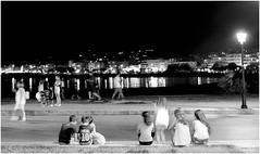 PORT DE RETHYMNO CRETE (PENILLEAULT) Tags: rethymno rethymnon crete nuit