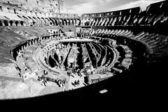 Colosseum (ADreamingOgre) Tags: italia roma coliseo coliseum day daylight blackandwhite black white roman italy italian rome travel traveler photo photographer photography nikon d5300 fotografia fotografo blanco y negro sky bw