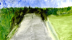 route 12 (Frdric Glorieux) Tags: frdricglorieux france route road acryl peinture painting