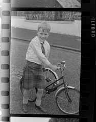 IMG_2262 (zaphad1) Tags: old unknown negaitives slides crail 1960 sixties 1960s 60s creative commons bike bicycle trike tricycle raleigh scotland scots scottish history historical local negs negatives zaphad1