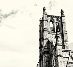 Church Conversion, South End (PAJ880) Tags: south end boston ma church conversion condos bw