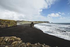 Vik black sand beach, Iceland (SamKent22) Tags: vkimrdal vik blacksandbeach iceland landscape coast coastline island shoreline scenic nature sunny rugged rocky ocean sea seascape icelandic
