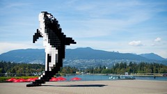 Digital Orca (FoodTy [food-tee]) Tags: vancouver britishcolumbia canada coalharbour digitalorca