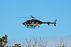 Bear in the air! Bell 407GX (cheliman) Tags: psp pastatetroopers bell helicopter 407gx meadville pa nwpa statepolice heli chopper flying landing