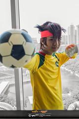 Inazuma Eleven x #AMG2016: 003 (FAT8893) Tags: amg2016 animangaki animangaki2016 cosplay inazumaeleven level5 malaysia soccer mamoru endou mark evans