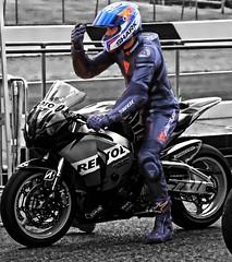HIONDA driver (driver Photographer) Tags:   aprilia cagiva honda kawasaki husqvarna ktm simson suzuki yamaha ducati daytona buell motoguzzi triumph bmv driver motorcycle leathers dainese