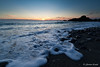 Last rays of sun (Giovanni Zanghi) Tags: sunset sea summer italy sun rock canon bay mediterranean rays usm efs 1022mm calabria 500d tyrrhenian f3545 corica coreca