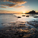 "Bamburgh Castle from Rock Pools at Sunrise • <a style=""font-size:0.8em;"" href=""https://www.flickr.com/photos/21540187@N07/8154222020/"" target=""_blank"">View on Flickr</a>"