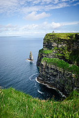 o'brien's tower - cliffs of moher - ireland (laughlinc) Tags: thechallengefactory laughlinc