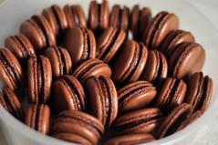 chocolate macarons (isabeliy) Tags: lemon chocolate macarons