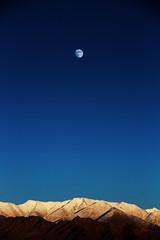A moon rise (Joe Athialy) Tags: moon nature canon moonrise 7d moonlight kashmir leh jk ladakh jammu