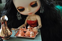 Conversa - 2382 - (MUSSE2009) Tags: toys doll mohair blythe custom zade árabe scheherazade
