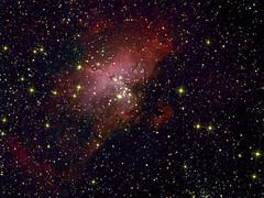 M16 (The Eagle Nebula) (CSky65) Tags: messier deepspace nebulae deepsky astrometrydotnet:status=solved astrometrydotnet:version=14400 astrometrydotnet:id=alpha20121196837092