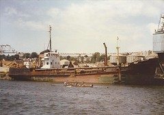 Harry Brown (hugh llewelyn) Tags: docks bristol suction harrybrown dredger alltypesoftransport