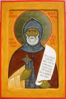 St Moses, the Ethiopian