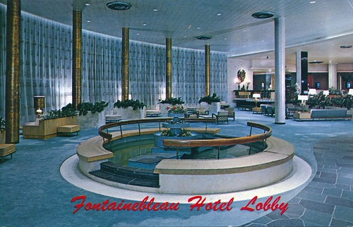 Fontainebleau Hotel Lobby Miami Fl A Photo On Flickriver