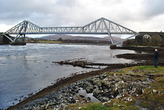 Falls of Lora (nordic lady) Tags: sea snow west tower coast scotland oban calmac mccaigs