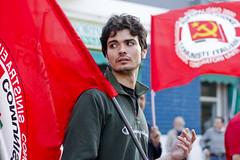 """""""Blocca l'Europa, ferma la precarietà, libera i saperi!"""" (Pamela Orrico) Tags: fiat legge precari cobas studenti sciopero europeo fiom aprea cassintegrati"""