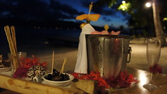 """The final night on Vahine Island - Champagne and nibbles • <a style=""""font-size:0.8em;"""" href=""""http://www.flickr.com/photos/87636534@N08/8198805640/"""" target=""""_blank"""">View on Flickr</a>"""