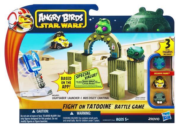 孩之寶『憤怒鳥:星際大戰』系列商品第一波上市!