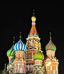 St Basil Cathedral, Moscow, Russia (cowboy6688) Tags: russia moscow redsquare orthodoxchurch onionhead stbasilcathedral blinkagain bestofblinkwinners