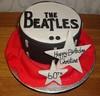 Beatles Drum (A Cherry On Top Scotland) Tags: birthday cakes cake drum beatles