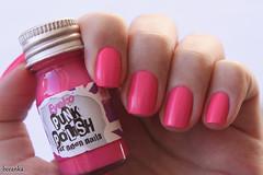 Punk Polish, Eyeko (beeanka.) Tags: pink punk neon rosa nails nailpolish fluor unhas fluorescente esmalte pinknails esmalterosa eyeko pinknailpolish rosachoque unhasrosa punkpolish eyekopunkpolishforneonnails eyekopunk eyekopunkpolish forneonnails