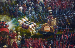 Altdorfer, The Battle of Issus, detail with Darius