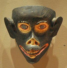 Mexican Monkey Mask (Teyacapan) Tags: museum mexico monkey mono mask mascara michoacan chango purepecha tocuaro
