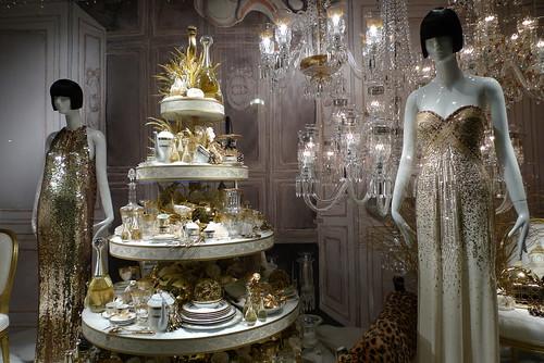 Vitrines de Noël Dior au Printemps - Paris, novembre 2012