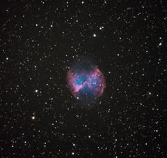 Dumbbell Nebula (Henry Weiland) Tags: Astrometrydotnet:status=solved Astrometrydotnet:version=14400 Astrometrydotnet:id=alpha20121192502433